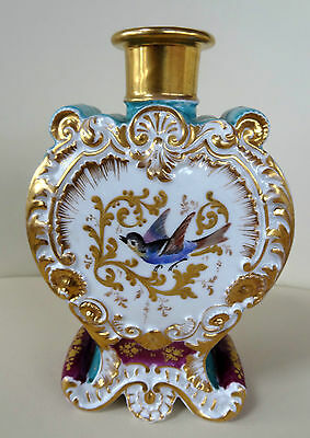 Beautiful 19th Century Jacob Petit Hand Painted Porcelain Scent Bottle