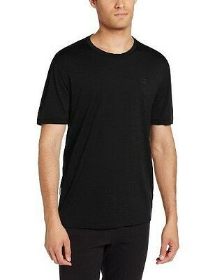 Icebreaker Tech Lite T-Shirt manches courtes Homme Noir FR : M (Taille NEUF