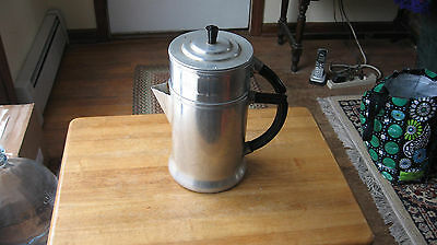 WEAR-EVER ALUMINUM VINTAGE COFFEE MAKER- NO 956- CAMPING COFFEE POT