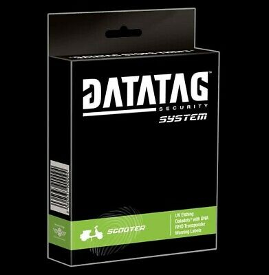 Datatag Scooter/Moped Version Tagging System - Home Office Approved