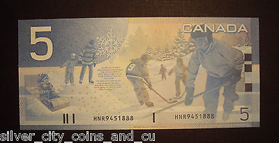 Canada BC-62bA $5 Replacement HNR945188 -  GemUnc