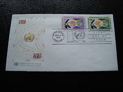 NATIONS-UNIES (new-york) - enveloppe 1er jour 19/9/1968 (cy56) united nations