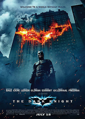 The Dark Knight (2008) V10 - A1/A2 Poster **BUY ANY 2 AND GET 1 FREE OFFER**