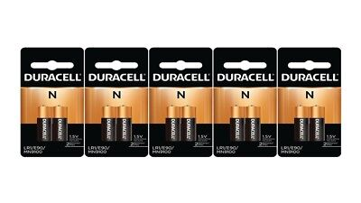10 x N Duracell 1.5V Alkaline Batteries ( Medical, LR1, E90, MN9100 )