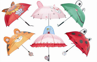 """""""First Steps"""" Childrens Compact Folding Umbrellas In Fun & Playful Designs"""