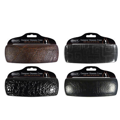 ''Daily Essentials'' Designer Hard Glasses Case for Men High Protection