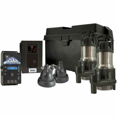 iON 35ACi Deluxe Battery Backup Sump Pump System (3000 GPH @ 10')