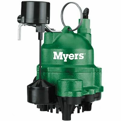 Myers MDC50V1 - 1/2 HP Cast Iron Sump Pump w/ Vertical Float Switch