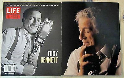 LIFE Time Specials TONY BENNETT B/W & Color RARE PHOTOS Life Unseen 112 PAGES