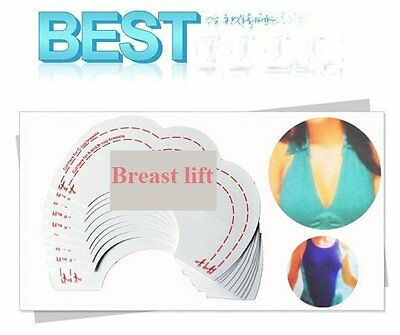 10 PACK x BARE LIFTS - NEW WOMENS INSTANT BREAST LIFT ENHANCER ADHESIVE BRA TAPE
