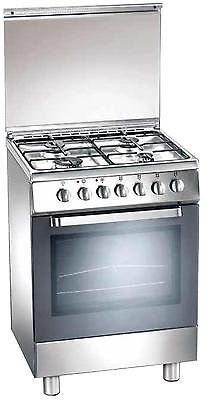 Gas cooker 60x50 cm, 4 burners, gas oven - Tecnogas D52NXS