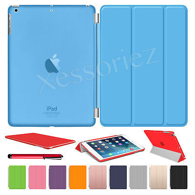 For APPLE iPad 2/3/4 mini Air 2 Pro Smart Magnetic Leather Cover Back Stand Case