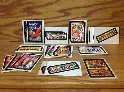 1973 - 1974 Topps Wacky Packages 5th Series ~ 27 card Starter Set / Lot