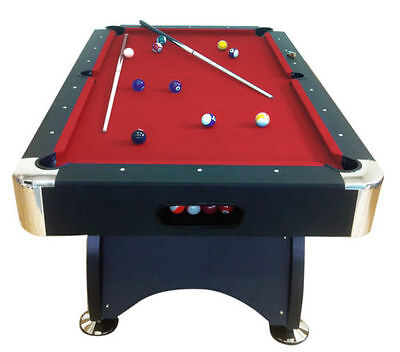 7Ft red Pool Table Billiard Playing Cloth Indoor Sports Game billiards table new