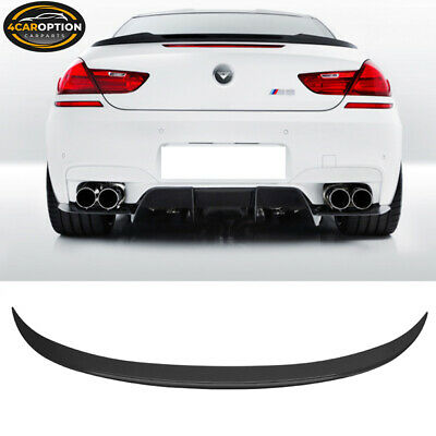 V-Style Rear Trunk Spoiler ABS 12-17 BMW F13 F06 6 Series Coupe & Gran Coupe