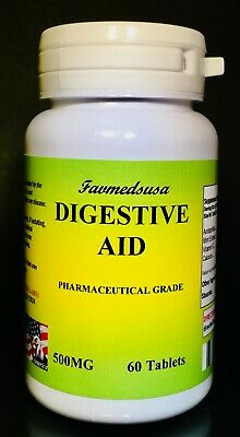 Digestive Aid, Acidophilus, Mint extract, high quality Made in USA - 60 tablets