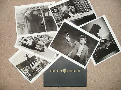 """""""DIRTY HARRY"""" (Clint Eastwood) - Full Set of 6 Glossy Photos"""