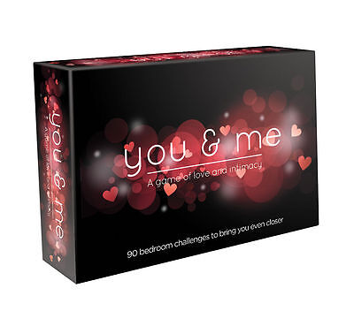 You & Me | You and Me - Romantic, Naughty & Sexy Adult Board Game | Role Play
