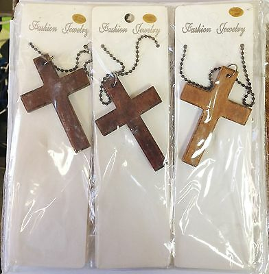 Lot of 12 Cross Necklace A-7471