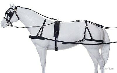Horse Driving Harness - Herculean - Large Horse Size - Nylon