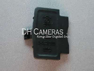 Nikon D5100 USB rubber Cover For SLR Camera Brand new Part