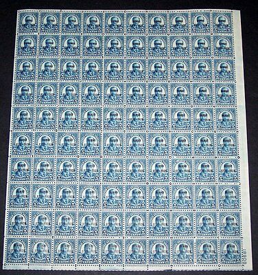 U.S. #648 Mint SHEET - 1928 5c Hawaii