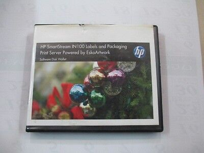 HP Indigo SmartStream IN100 Labels & Packaging Software Disk Wallet CA396-01550
