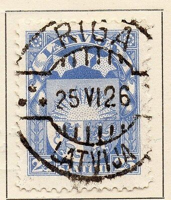 Latvia 1923 Early Issue Fine Used 25s. 120871