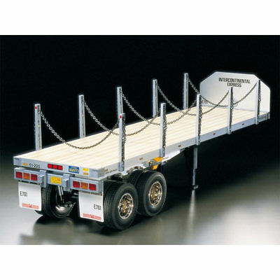 TAMIYA RC 56306 Flatbed Semi-Trailer for Tractor Truck 1:14 Assembly Kit