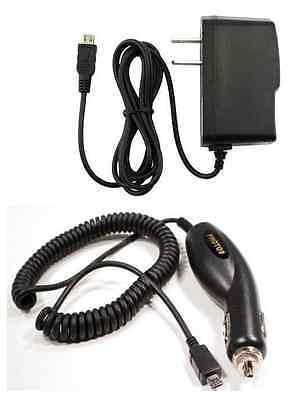 Car+Wall Home AC Travel Charger Adapter for Verizon GzOne Commando 4G LTE C811
