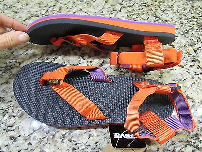 74d644c0230b New Teva Originals Universal Strappy Sandals Womens 10 Orange purple Free  Ship
