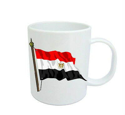 Egyptian Flag  Coffee Mug Free Personalisation Egypt