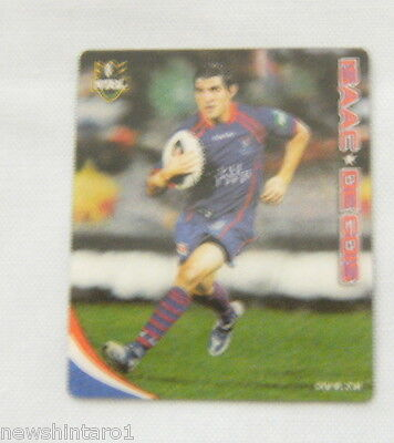 Nrl 2010 Rugby League Tazo #38   Isaac De Dois, Newcastle Knights