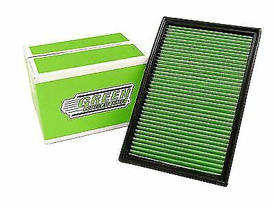 Green Cotton Performance High Flow Panel Car Air Filter Replacement P950383