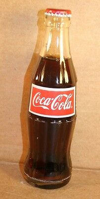 Coca-Cola ACL Hobbleskirt Bottle, Indonesia, 1988, Clear Glass, FULL with Cap