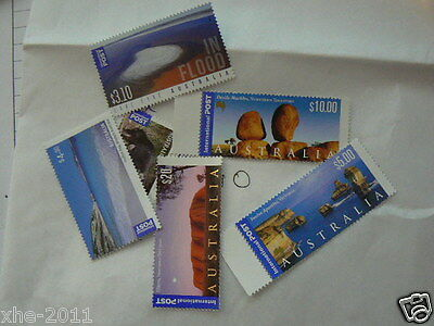 Mint Australia International postage Stamps, Full Gum, Face Value: $300