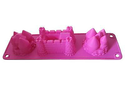 """""""We Can Cook"""" Children's Silicone Castle Mould for Cakes or Jelly by Royle Kids"""