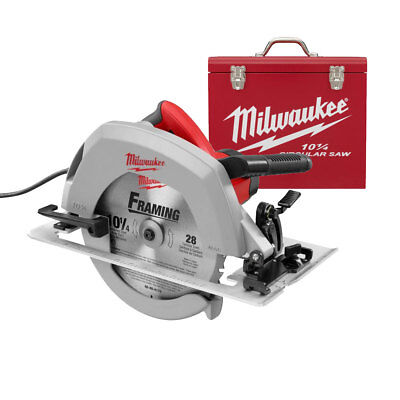 "10-1/4"" Circular Saw PLUS Case Milwaukee 6470-21 New"