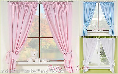 Baby Nursery Window Curtains / bedding set