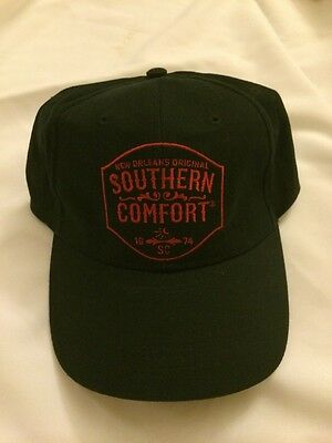 Sale Price - Southern Comfort Black Ball Cap Hat New Orleans