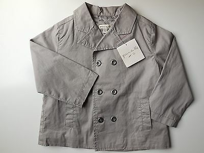 'grain De Ble' French Baby Toddler Girl Boy Coat Jacket Size 2 *new