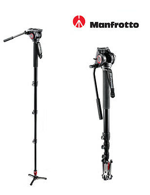 Manfrotto MVM500A Fluid Monopod with 500 Series Head Replaces 561BHDV-1