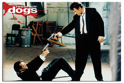 Reservoir Dogs Guns Official Movie Poster New - Maxi Size 36 x 24 Inch