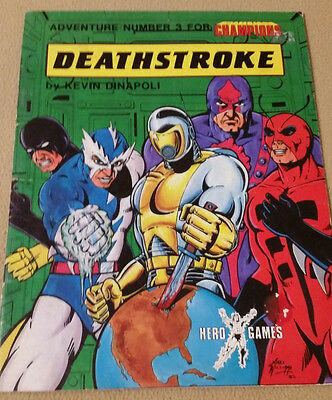 Deathstroke Adventure Number 3 For The Champions Role Playing Game