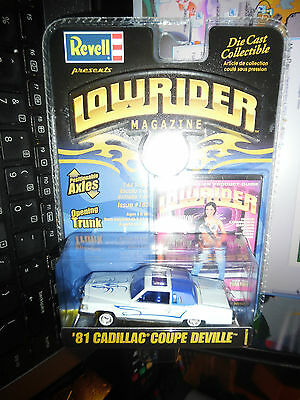 1981 CADILLAC COUPE DEVILLE LOWRIDER MAGAZINE REVELL ISSUE #183 86-3221 1/64