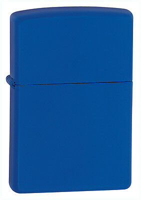 Zippo Windproof Royal Blue Matte Lighter, 229, New In Box