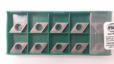 New World Products DCMT 32.51 AA Mp4 C5 Carbide Inserts 10pc DCMT 11T304