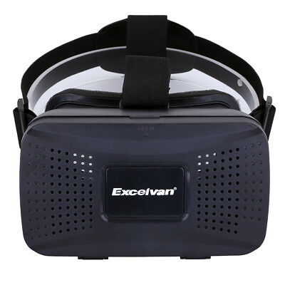 """3D IMAX Virtual Reality Headset VR Movie Game Goggle Glasses For 3.5"""" - 6"""" Phone"""