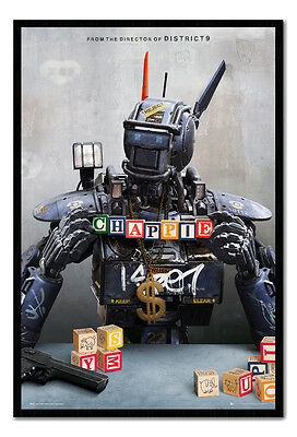 Framed Chappie Movie One Sheet Poster New