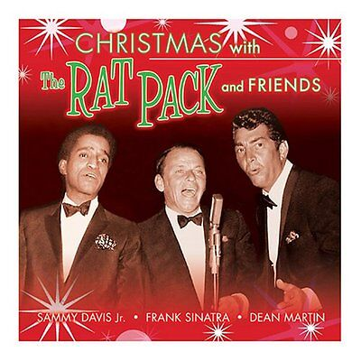 New: THE RAT PACK (Frank SInatra, Dean Martin, Sammy Davis Jr.) - Christmas CD